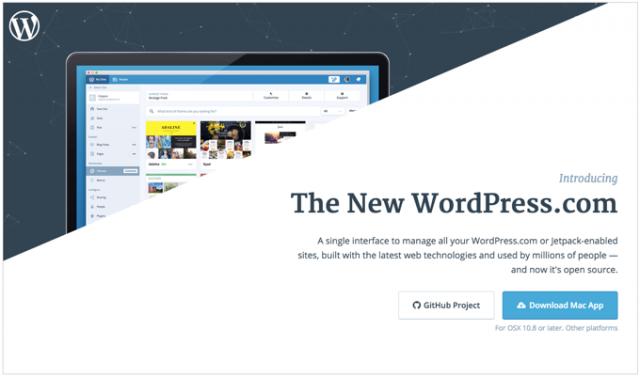 WordPress.comがMacアプリをリリース!複数サイトの管理がとても便利に!
