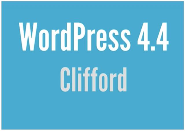 """WordPress 4.4 """"Clifford""""日本語版リリースされたので更新しました!「新機能紹介」"""