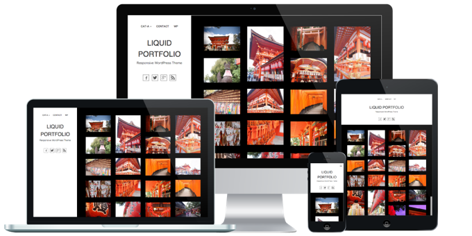 LIQUID DESIGN 日本語WordPressテーマ 最新作 3点同時リリース!