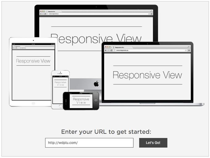 ブログのURLを入力するだけでiPhoneやMacなどの画面表示を確認できる「Responsive View」