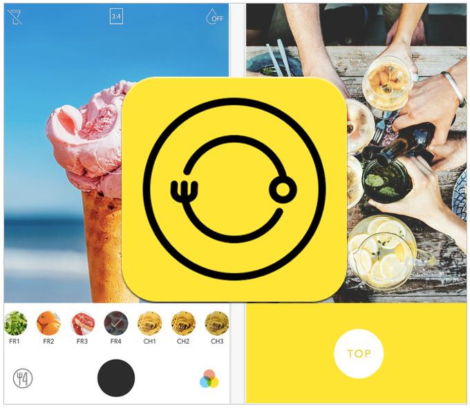 食べ物を撮ることに特化したカメラアプリ「Foodie」をLINEがリリース!