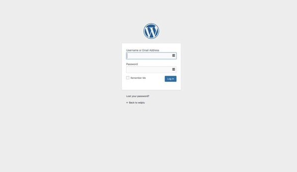 Local設定 WordPress管理画面