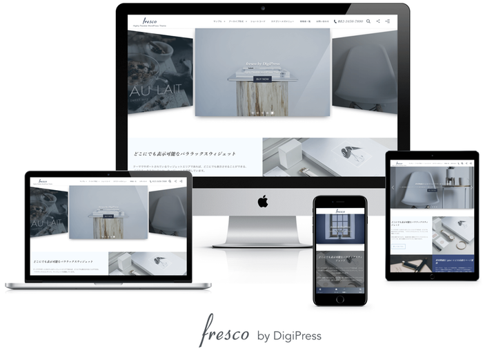 WordPress fresco